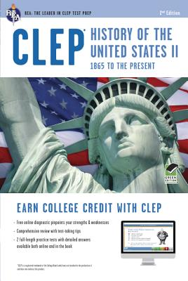 Clep History of the U.S. II W/Online Practice Tests By Marlowe, Lynne